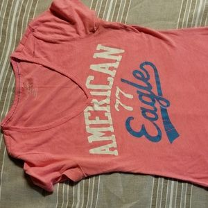 American Eagle Outfitters T Shirt. XL. Pink.